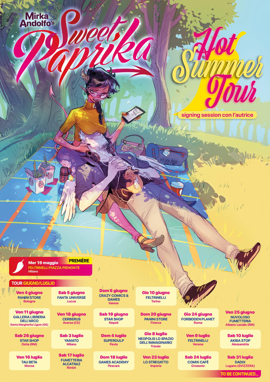 Hot Summer Tour di Sweet Paprika