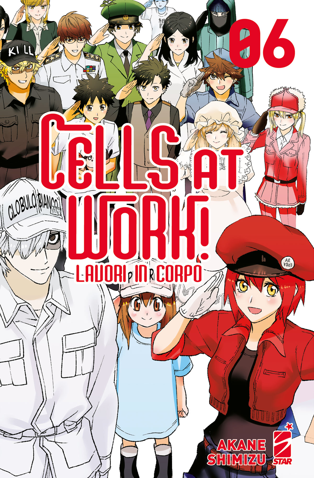 CELLS AT WORK! – LAVORI IN CORPO n. 6