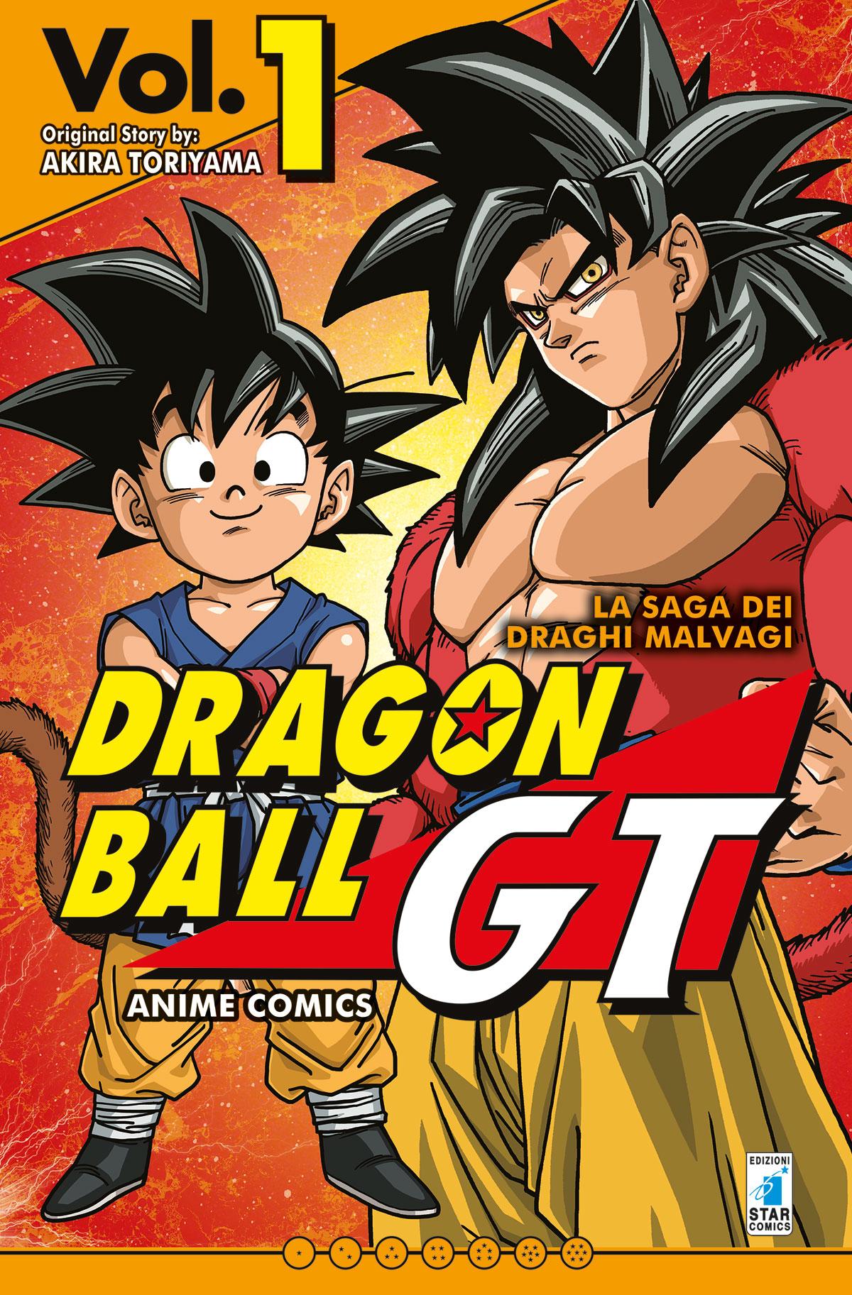 DRAGON BALL GT ANIME COMICS – LA SAGA DEI DRAGHI MALVAGI n. 1: UNA NUOVA AVVENTURA, TUTTA A COLORI