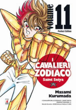 I CAVALIERI DELLO ZODIACO - SAINT SEIYA - PERFECT EDITION n.11