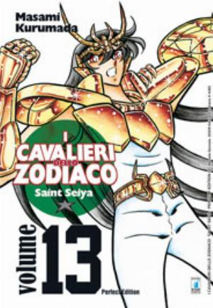 I CAVALIERI DELLO ZODIACO - SAINT SEIYA - PERFECT EDITION n.13