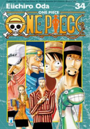 ONE PIECE NEW EDITION n.34