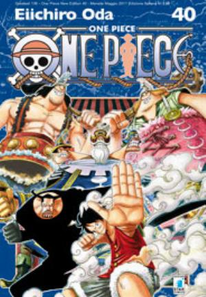 ONE PIECE NEW EDITION n.40