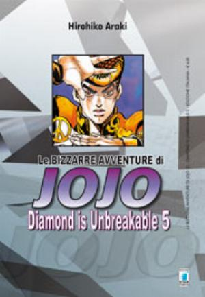 JOJO - DIAMOND IS UNBREAKABLE n.5