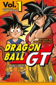 DRAGON BALL GT ANIME COMICS – LA SAGA DEI DRAGHI MALVAGI n.1