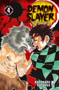 DEMON SLAYER - KIMETSU NO YAIBA n.4
