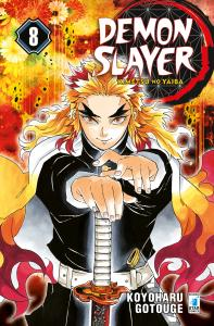 DEMON SLAYER - KIMETSU NO YAIBA n.8
