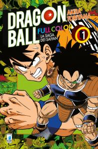 DRAGON BALL FULL COLOR 3a SERIE - LA SAGA DEI SAIYAN n.1