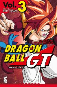 DRAGON BALL GT ANIME COMICS – LA SAGA DEI DRAGHI MALVAGI n.3