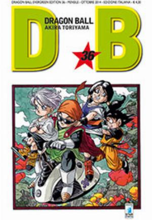 DRAGON BALL EVERGREEN EDITION n.36