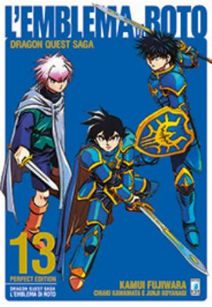 DRAGON QUEST SAGA - L'EMBLEMA DI ROTO PERFECT EDITION n.13