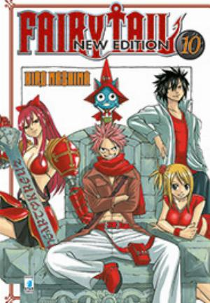 FAIRY TAIL NEW EDITION n.10