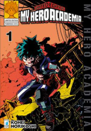 MY HERO ACADEMIA LIMITED EDITION n.1