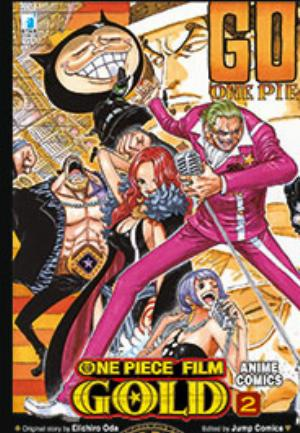 ONE PIECE GOLD: IL FILM - ANIME COMICS n.2