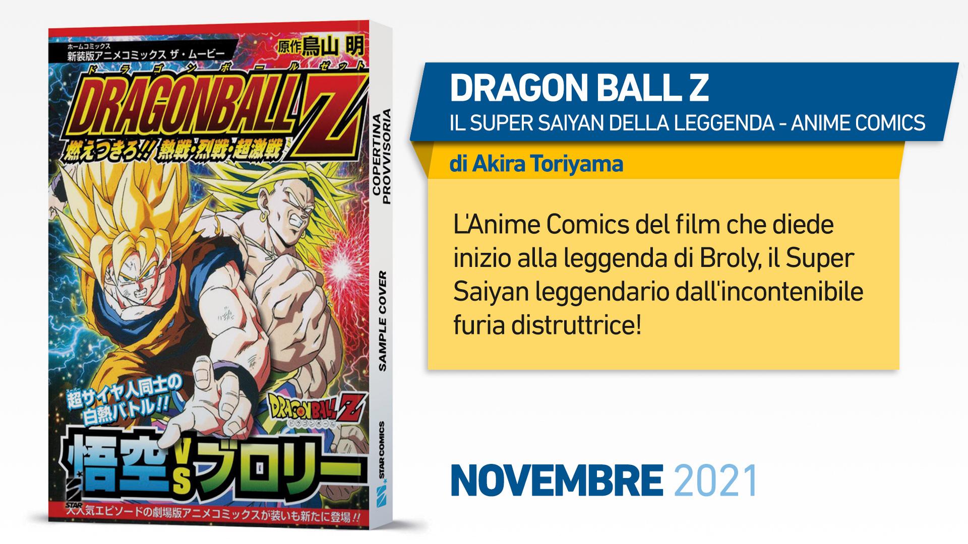 DRAGON BALL Z – IL SUPER SAIYAN DELLA LEGGENDA – ANIME COMICS