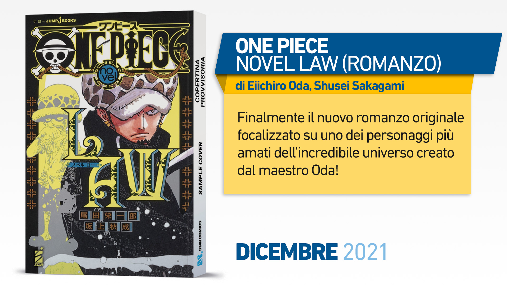 ONE PIECE NOVEL LAW (ROMANZO)