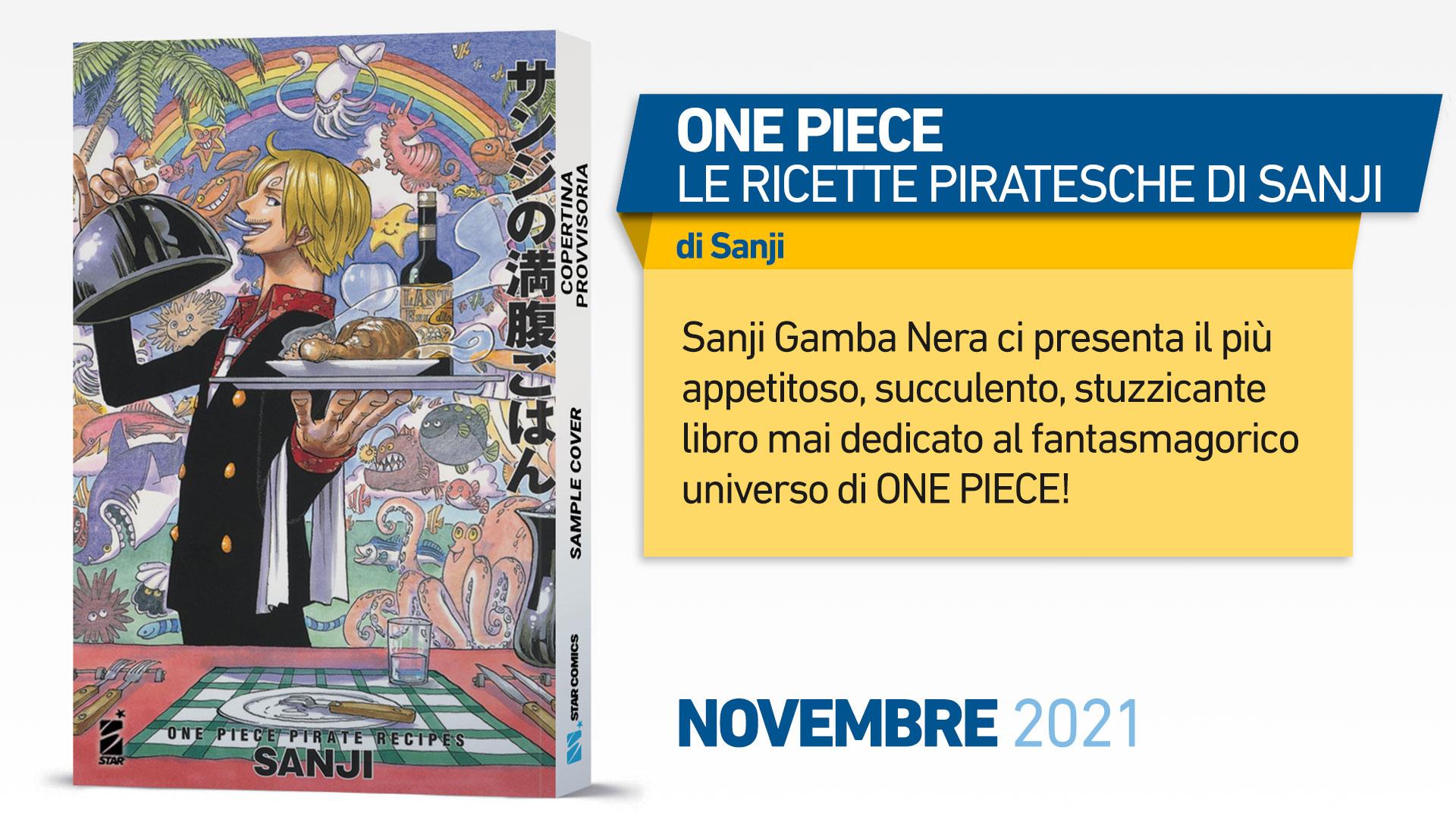 ONE PIECE – LE RICETTE PIRATESCHE DI SANJI