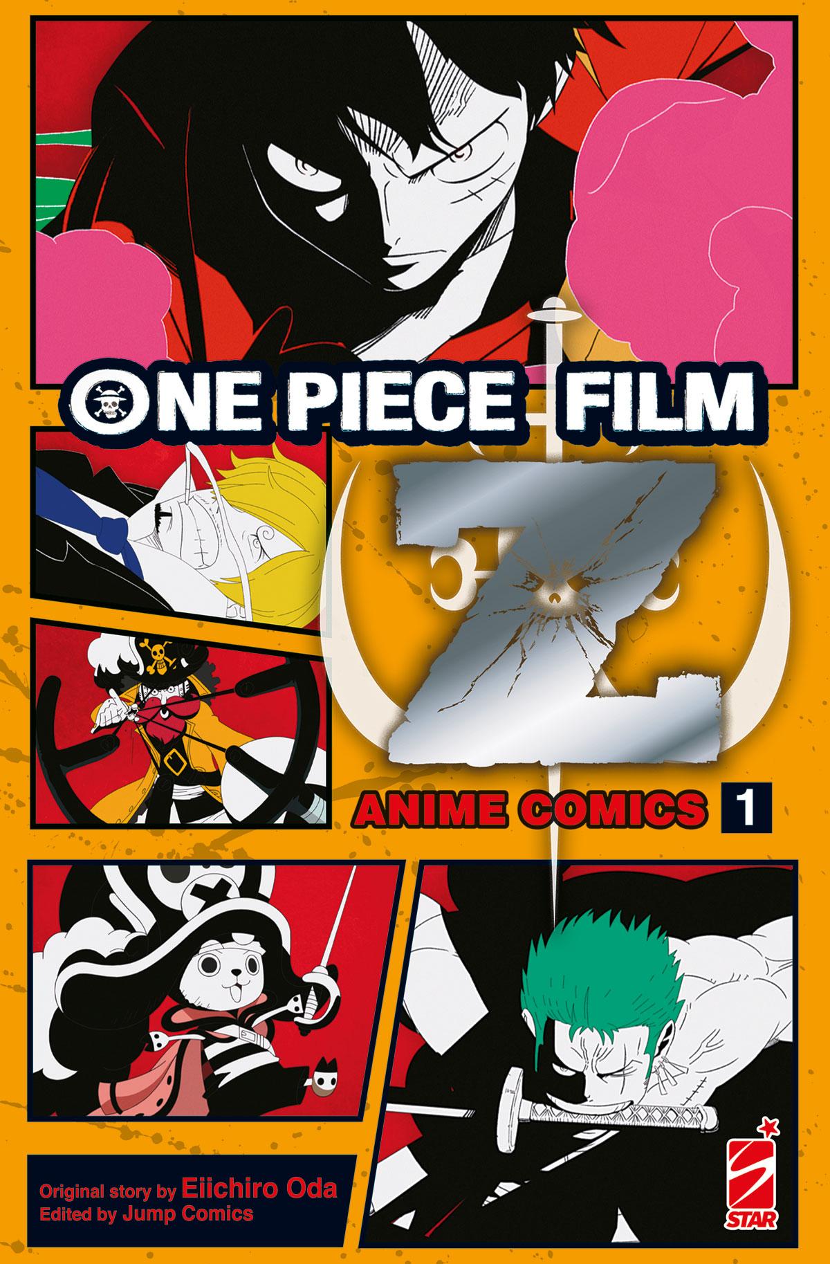 ONE PIECE Z: IL FILM – ANIME COMICS n. 1