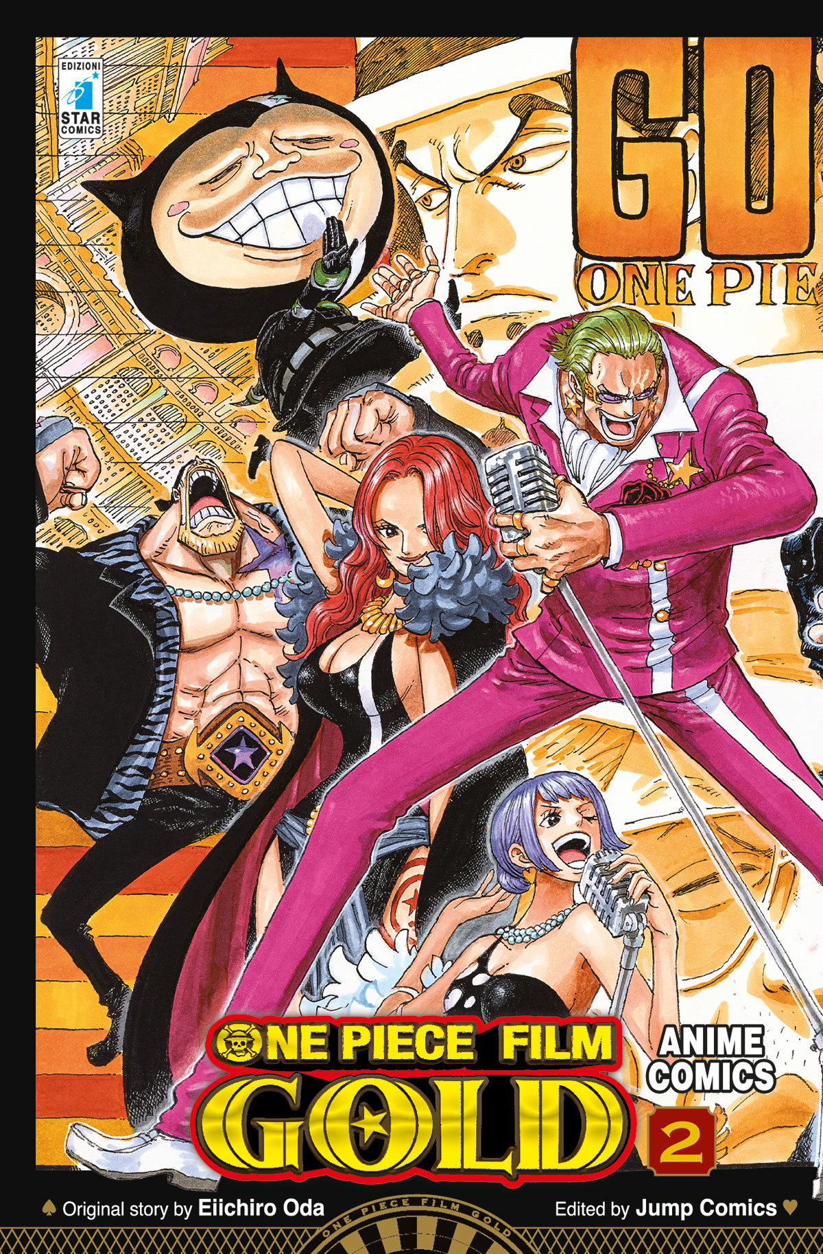 ONE PIECE GOLD: IL FILM – ANIME COMICS n. 2