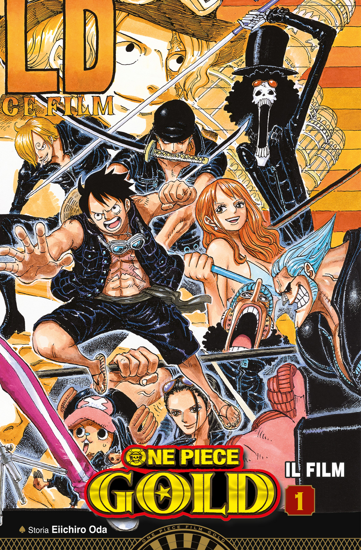 ONE PIECE GOLD: IL FILM – ANIME COMICS n. 1