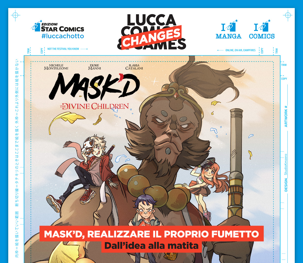 Star Comics a Lucca Changes 2020