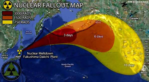 Fallout del disastro di Fukushima