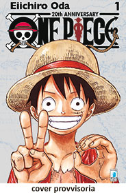 ONE PIECE 20th ANNIVERSARY LIMITED EDITION SILVER