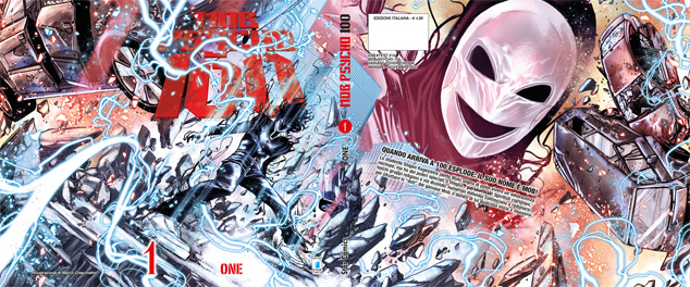 Mob Psycho 100 n. 1 Variant Cover di Marco Checchetto